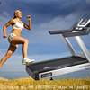 Professional Treadmill Fitness Equipment Sports Entertainment