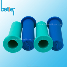Non-slip protective silicone rubber handle sleeve