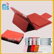 Leather Case for iPad Mini With Wireless Bluetooth Keyboard