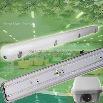 1200mm ip65 waterproof 1.2m led tri proof light 36w with ra80 for parking lots subway