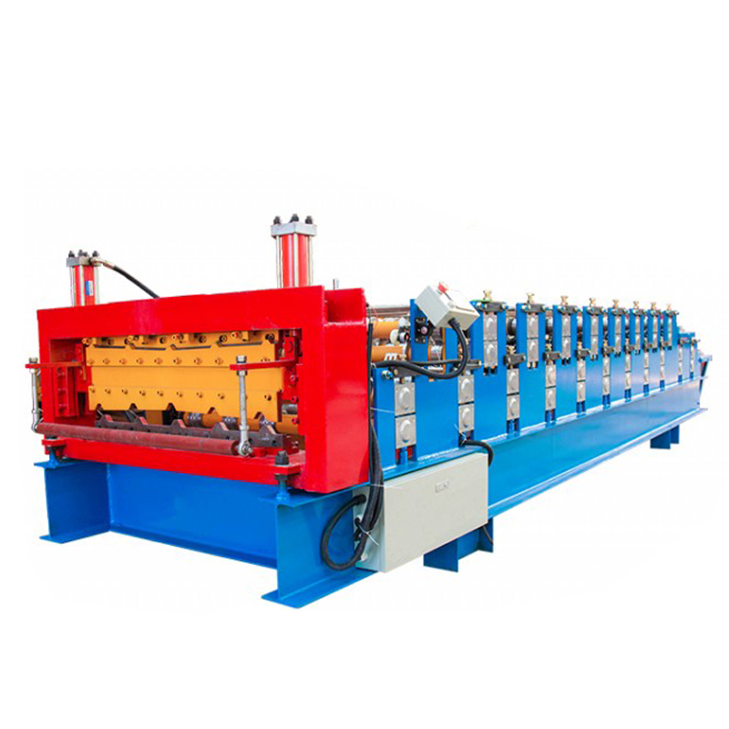 Building materical double layer tile making machine
