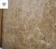 High quality cheap price Brown Crystal Light Emperador big marble slab