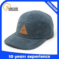 Custom Leather Patch Logo Snapback Hats Wholesale High Quality Design Winter Hats