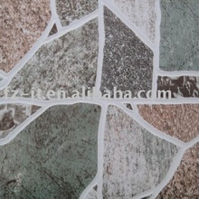 porcelain tile with irregular shape