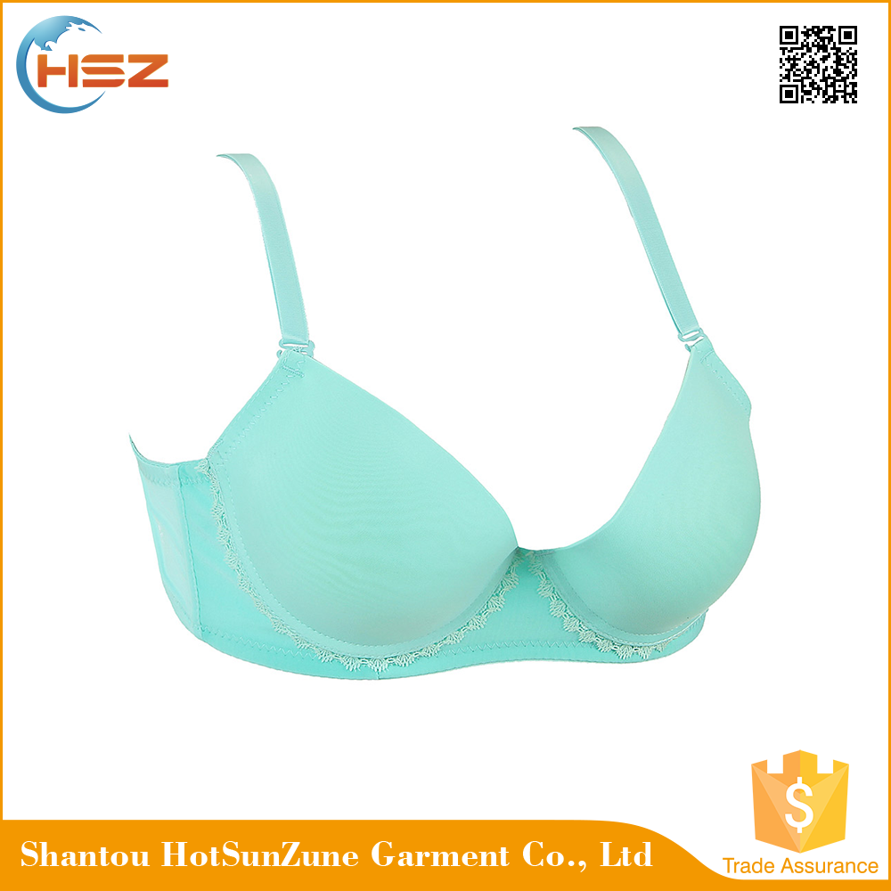 HSZ-58050 Wholesale One Piece Ladies Bra Adult Girls Bra Big Size Cup Sexy Transparent Lingerie Bras