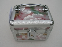 pink or silver white sunrise beauty case at factory price