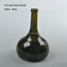 Wholesale 500ml red wine glass bottles for sale