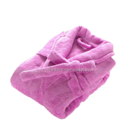 Best quality waffle ribbed sports bathrobe