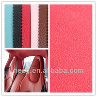 Pink/Red PVC Car seat leather, bus seat cover