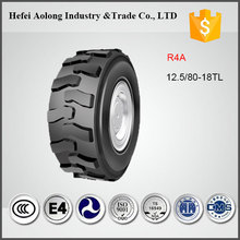 Competitive Price Industrial Tire R4A TL Backhoe Tire 12.5/80-18