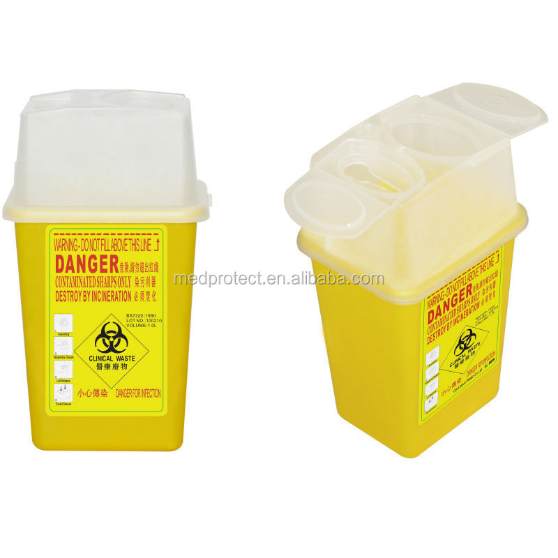 2015 new product of Sharp container medical medical safety box