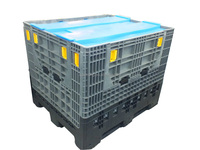 Heavy Duty Plastic Pallet Folding Large Container for sale