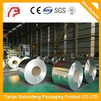 Printed and Lacquered JIS G3303 standard tinplate/TFS, MR steel for metal packaging cans with best quality