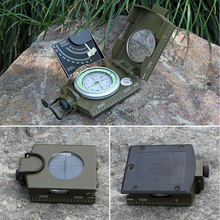 New High Quality Military Army Geology Compass Sighting Luminous Compass for Outdoor Hiking Camping