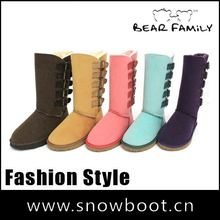 Winter snow boots new fabric tall women fashion boots 2012