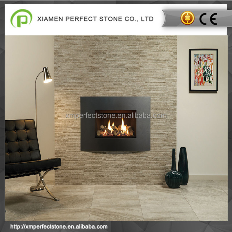 2017 Multicolor & black slate for fireplace hearth stacked price