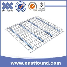 Wire Mesh Deck Panel Step Beam, Perforated Steel Grid Deck