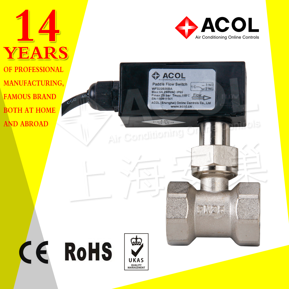 Long paddle Water flow switch for swimming pool