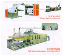 Fully Automatic PS Foam Food Container Production Line