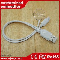 various styles 3-in-1 retractable cable used in exhibition hall