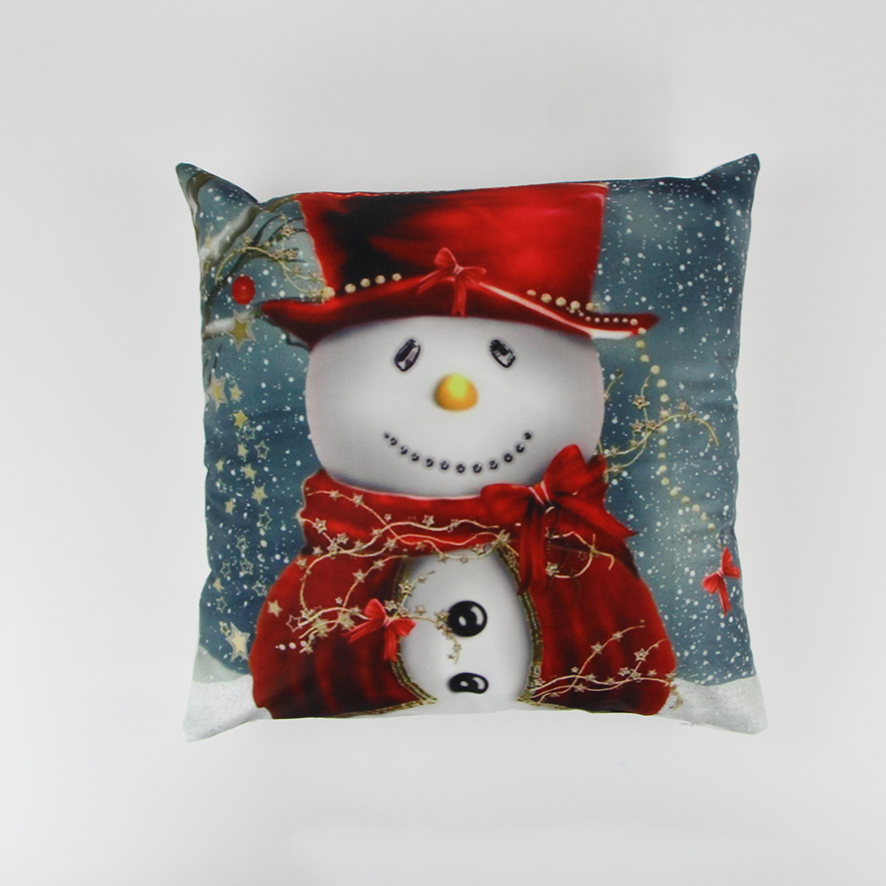 2017 Christmas hold pillow cushion cover woven cushions plush sofa pillow case/pillow/Cushion cover