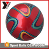 wholesale football soccer training equipment thermal bonded match leather soccer ball