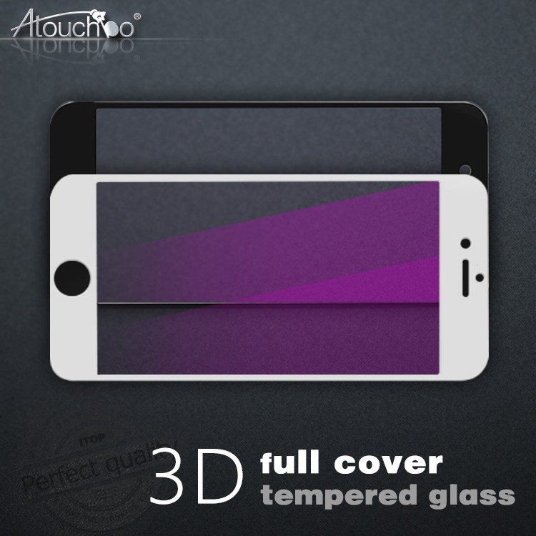 Mobile Phone Used Blue Film 3d Edge Curved Tempered Glass Screen Protector, Anti Blue Ray Screen Protector Film
