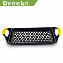Die-cast premier griddle fryer cookware with two handle