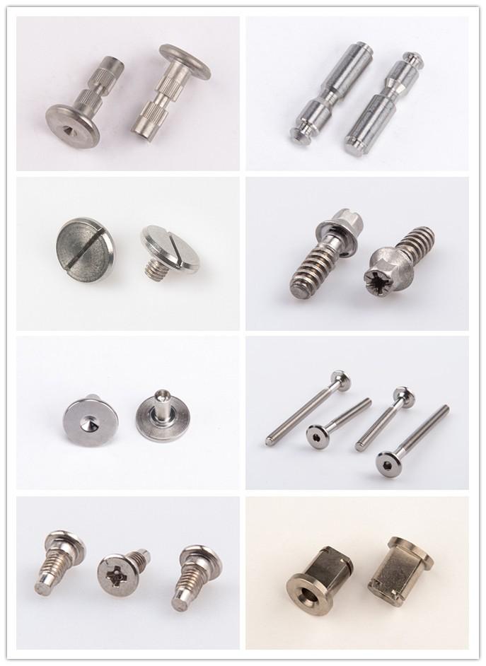 Steel Dowel Fastener Pins Screw Dowel Furniture Connecting