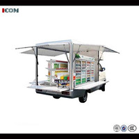high quality fast food mobile truck for sale