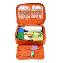 Lightweight travel emergency first aid kit for car