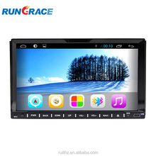 Android 7 inch 2 din touch screen car radio for universal navigation