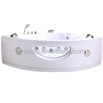 2018 J-Spato New Arrival Two People Sector Jet Surf Massage Bathtubs For JS-8034