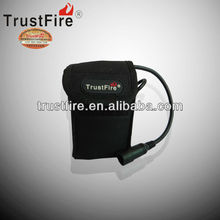 2013 TrustFire 8.4V rechargeable lithium ion battery pack 6*18650 battery pack 6pcs in series for bicycle light