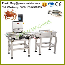 Automatic sea food fish sorter machine / fish grader price / fish sorting machine
