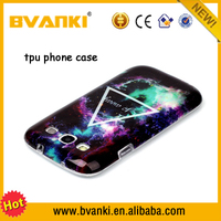 chinese wholesale tpu mobile phone case for samsung galaxy s3 cartoon printing cellphone cover for samsung galaxy s3