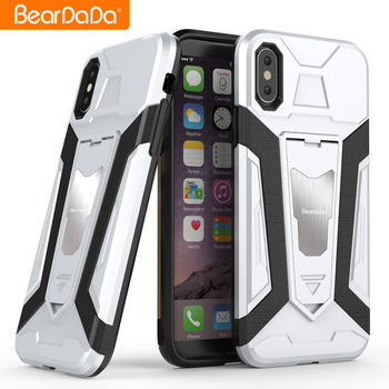 Latest High Quality pc tpu 2 in 1 for iphone x cover shockproof
