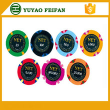 14g 3 Color Clay Poker Chip