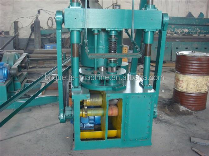 Hollow Model Honeycomb coal press machine / briquette making machine price