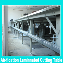 New Type sewing wood cutting table/fabric processing table for factory price