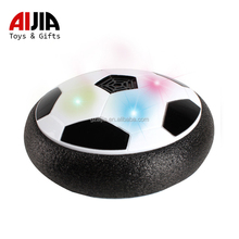 2018 Trending Products cool sport game kid toy air power hover ball with LED flash light toy balls