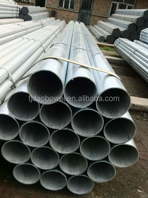 Zinc plated carbon steel pipe, erw steel pipe&tube