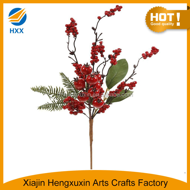 indoor decorative berry branch