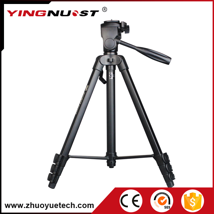 China Supplier Professional Camera Tripods Aluminum Alloy Ball Head Photo Tripod for Canon Nikon for Sony slr Camera Video Stand