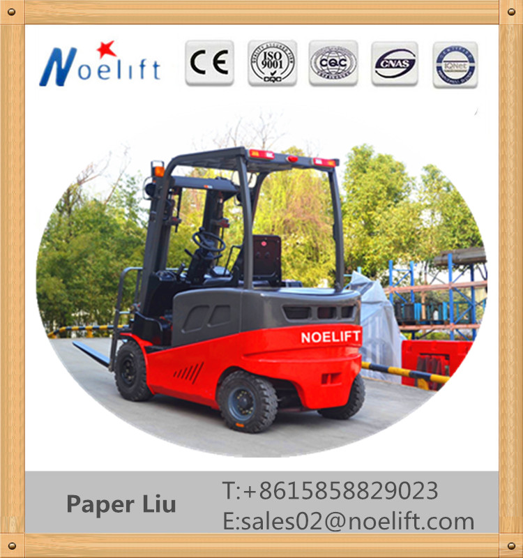10kw electric motor rear axle 2T 3T electric forklift high lift truck with AC motor,Curtis controller,CE,ISO,4 wheel electric