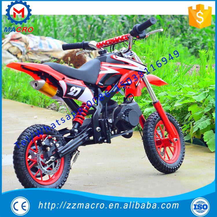 gas dirt bike 49cc super pocket bike