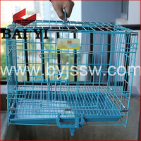 Weld Mesh Portable Metal Folding Dog Cages