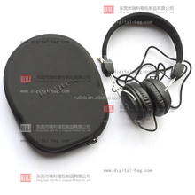 Headphone zippered eva case hardshell packing carry box for bleutooth headset