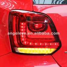 For VW Polo LED Tail Lamp Rearlights Light Red Color 2010-2014 Year V3 Type