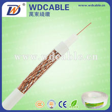 OEM high quality copper core coaxial cable rg11 for TV
